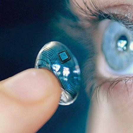 lentes contacto google camara