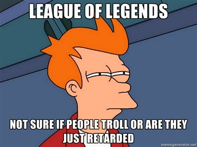 lol league of legends troll people