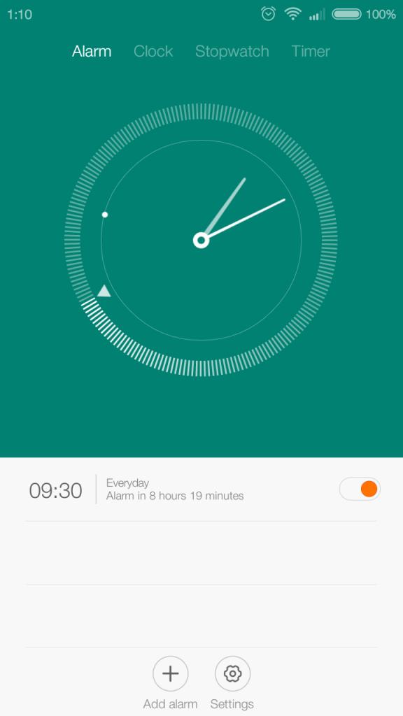 MIUI Reloj